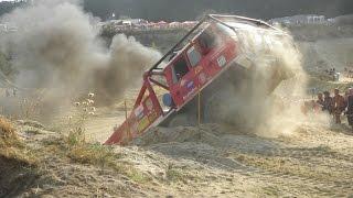 Truck Trial  Kunštát  / Exhibice/Extreme Truck Hill CLIMB
