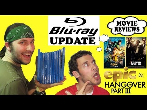 Out & About/Blu-ray Update/Epic & Hangover Part III Reviews!