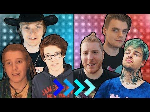 Youtuber: FRÜHER vs. HEUTE (2008-2019)