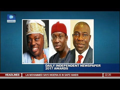Gov. Okowa Bags Daily Independent Newspaper  'Man Of The Year' Award