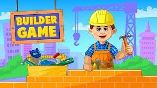 모바일 게임 [빌더 게임] 돼지은행 금화하나면 집을 짓고 부시고 개집도 만들고 나무도 베고 다해주는 건설아저씨가 되어버렸어요!!! 간단 리뷰 & 플레이 영상