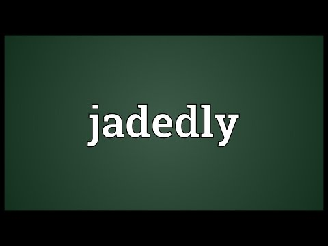 Header of jadedly