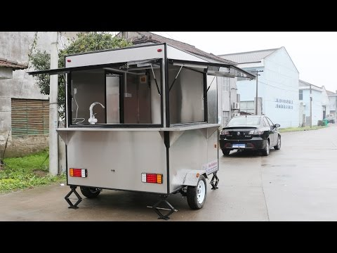 Best Quality-Food Car-Food Trailer-Mobile Food TruckSor Sale-Hot Dog Cats  /MODEL:FV-240