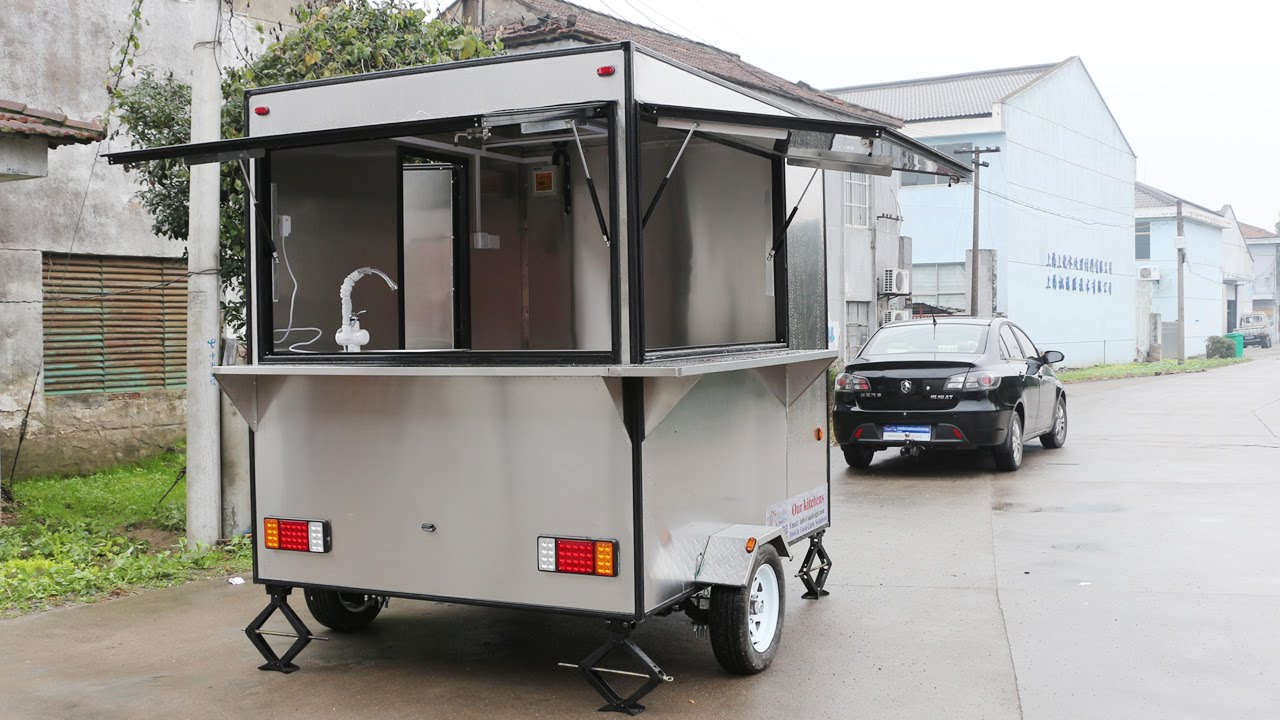 Best Quality-Food Car-Food Trailer-Mobile Food TruckSor Sale-Hot Dog ...