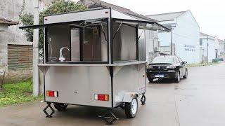 Best Quality-Food Car-Food Trailer-Mobile Food TruckSor Sale-Hot Dog Cats  /MODEL:FV-240