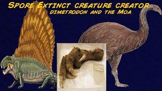 Spore extinct creature creator ep-7 Dimetrodon and the moa