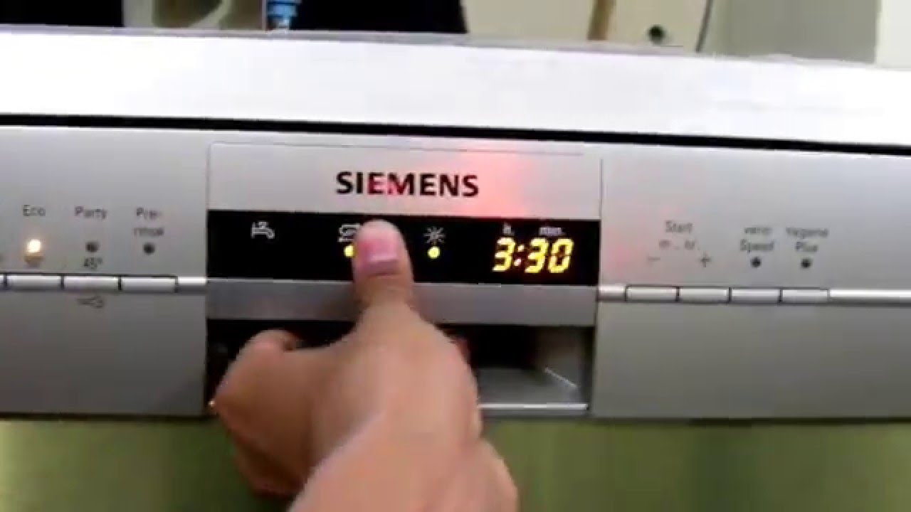 siemens dishwasher sn26l800in 29 first look youtube rh youtube com Siemens Dishwasher Troubleshooting Dishwasher Siemens ManualDownload
