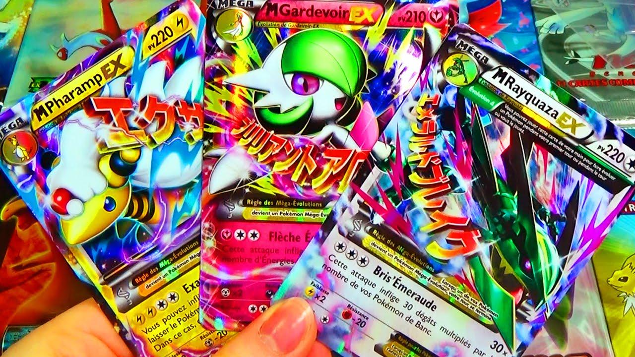 Top 20 des plus belles cartes pok mon ultra rares les m ga pok mon ex youtube - Tout les carte pokemon ex ...