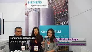 Food Tech Summit & Expo 2017 - Testimonio Expositor – Siemens PLM – Mónica Lechuga
