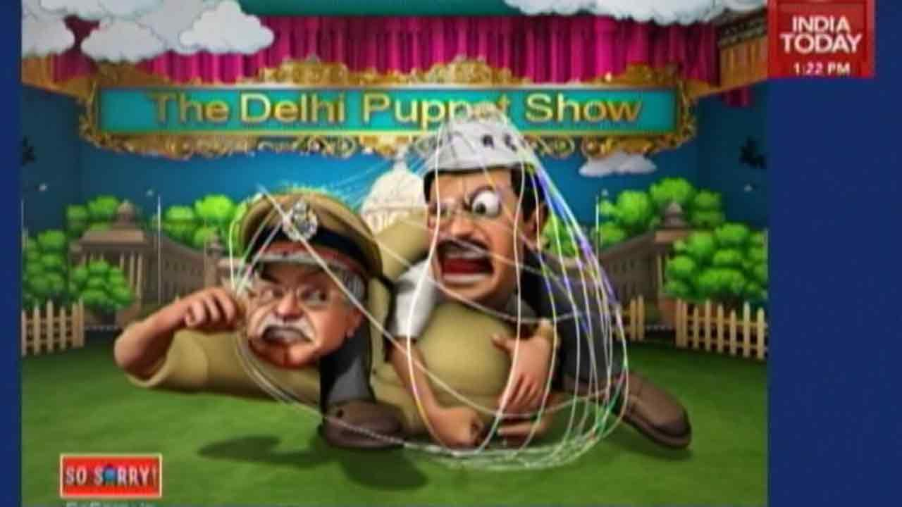 So Sorry: Delhi Puppet Show