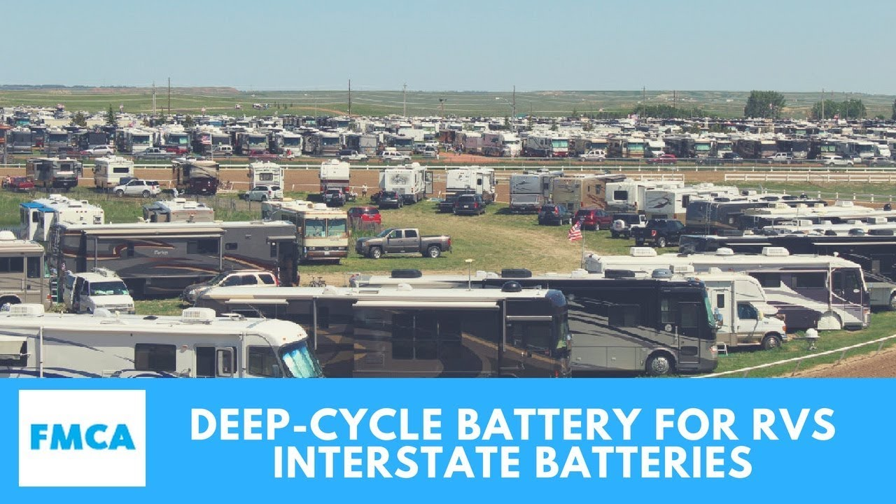 Interstate Batteries New Deep Cycle Battery For Rvs