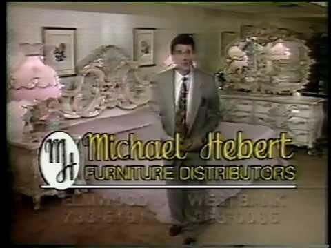 Michael Hebert Furniture Commerical 11/1991