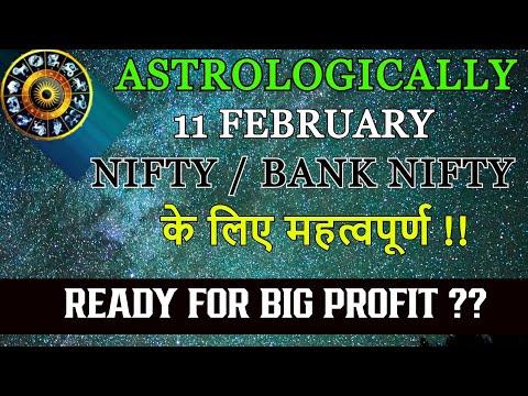 Astrologically 11 February Nifty/BankNifty के लिए महत्वपूर्ण | Ready for big PROFIT ?