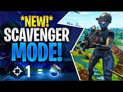 *NEW* SCAVENGER MODE Fortnite Battle Royale