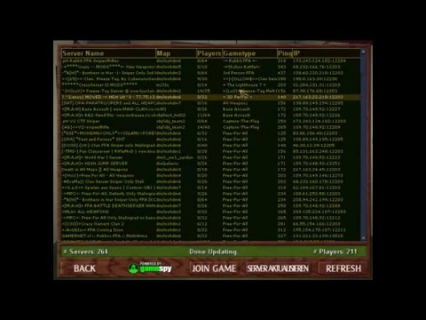 how to create server in counter strike 1.6 in lan