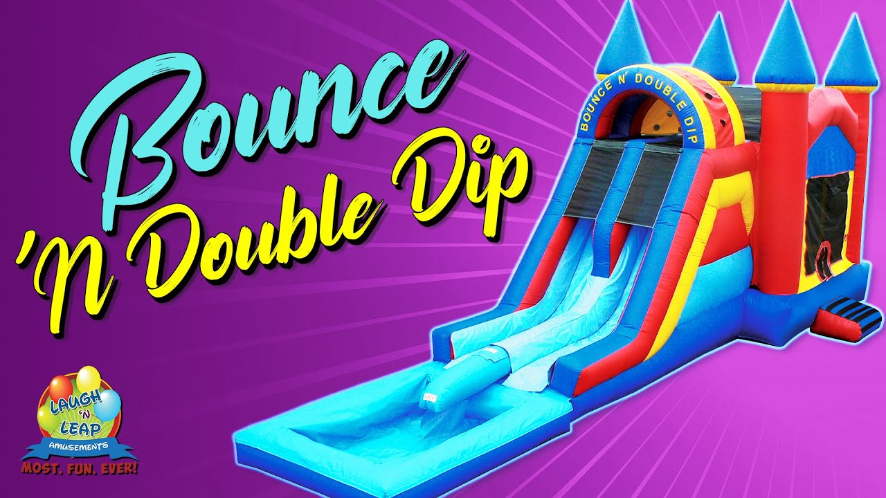 Bounce N Double Dip House Water Slide Columbia Sc