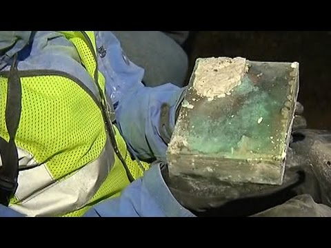 Time capsule hidden by Revolutionary War heroes unearthed in Boston