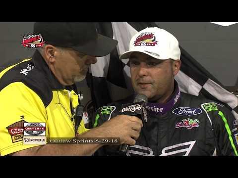 Knoxville Raceway WoO Highlights - June 29, 2018