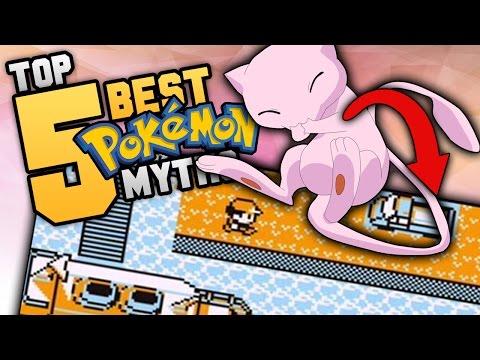 Top 5 BEST Pokémon Myths