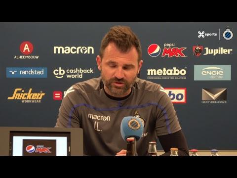 DE PERSCONFERENTIE VOOR CLUB BRUGGE - STVV | 2018-2019