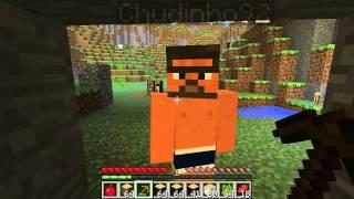 Minecraft - Oczami Jaskiniowca [multiplayer] #2 - Jama czy cóś...