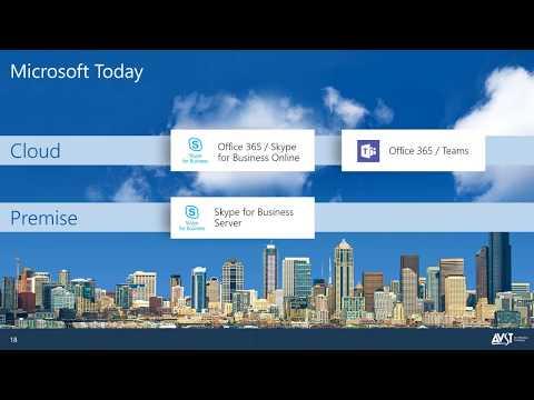 2018 AVST Webinar - Options for Microsoft Exchange Online UM Customers (321)