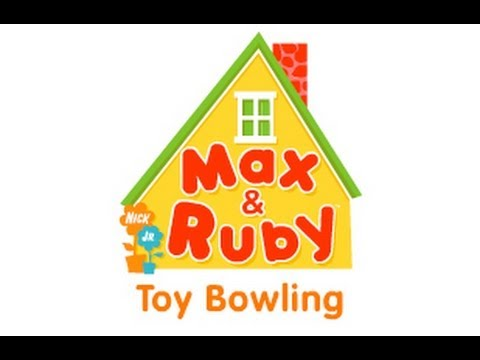 Max And Ruby Toy Bowling Youtube