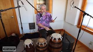 Legacy Percussion 9: Agbekor/Bembé Bell w/ 8 Cross-Rhythm (polyrhythm)