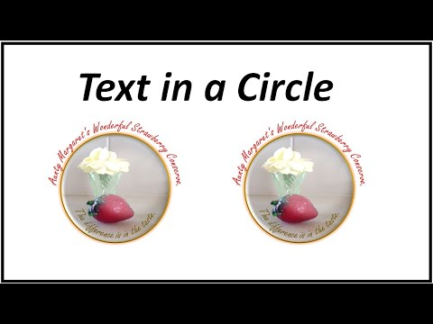 Text Circle in Word – Microsoft Word 2016