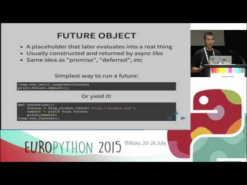 Anton Caceres - Better asynchronous code with Tornado and Python 3