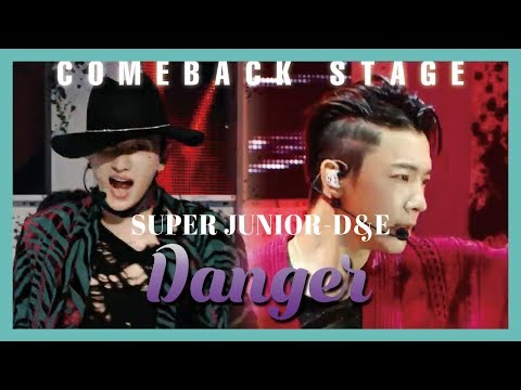 [Comeback Stage] SUPER JUNIOR-D&E - Danger,  슈퍼주니어-D&E - 땡겨 Show Music Core 20190420