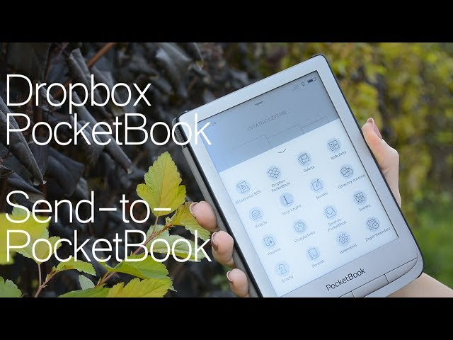 Czym są i jak działają usługi Send-to-PocketBook i Dropbox?