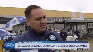Trabajadores de Matrimex denuncian once despidos a pesar de acuerdos previos