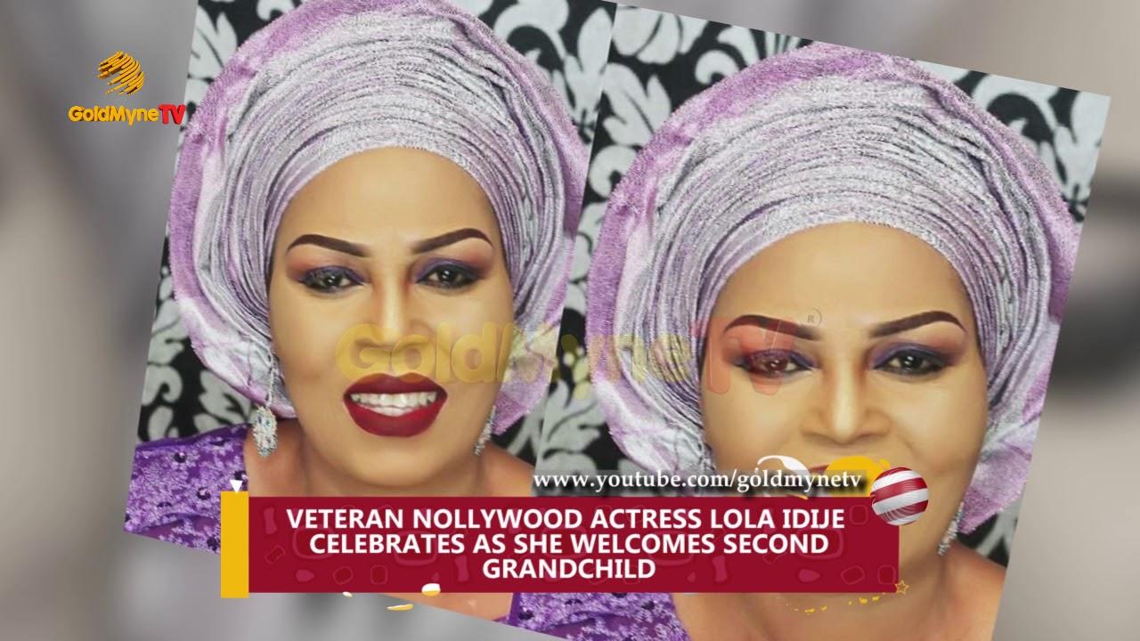 Download VETERAN NOLLYWOOD ACTRESS LOLA IDIJE CELEBRATES AS SHE WELCOMES SECOND GRANDCHILD