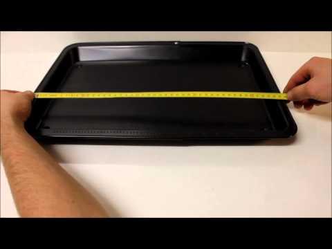 Customize a baking tray to 45.7 cm -- Backblech auf 45,7 cm anpassen