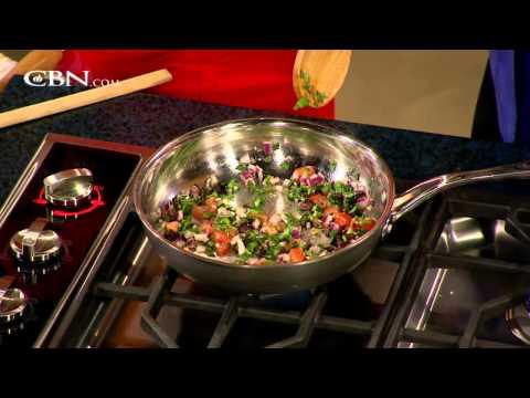 News anchor, author and chef Dari - CBN.com