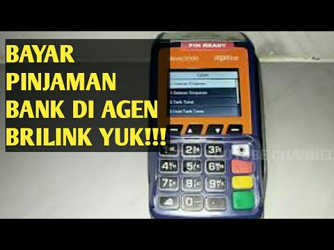 2 Cara Membayar Kredit Bank BRI Melalui AgenBrilink