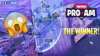 Fortnite PRO-AM Winner! (Recap)