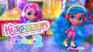 Unbox Daily: ALL NEW Hairdorables SERIES 2 Plus Quick Craft