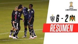 ¡REMONTADA, GOLEADA Y CLASIFICACIÓN! | Independiente del Valle 6-2 Unión Española | RESUMEN