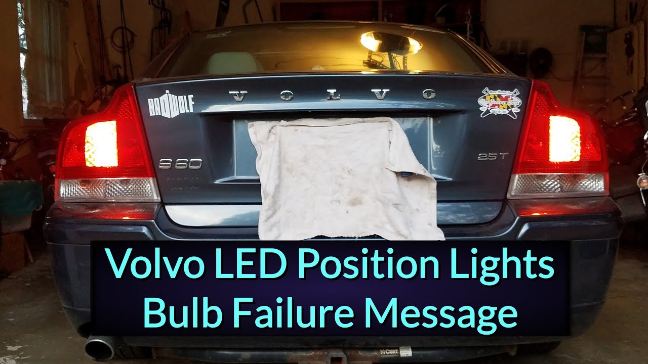 volvo s60 position light | Decoratingspecial.com