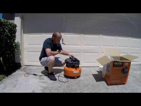 unboxing/review-ridgid-6-gallon-air-compressor