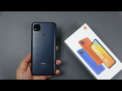 Xiaomi Redmi 9C Midnight Gray unboxing, camera, antutu, gamming test