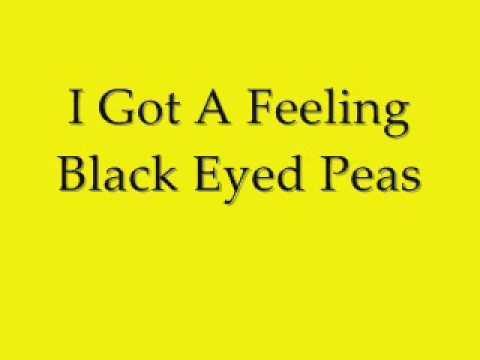 I Got A Feeling - Black Eyed Peas FULL SONG With Lyrics ...