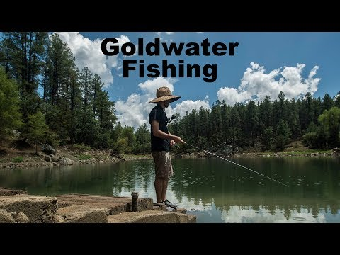Fishing In A Thunderstorm At Goldwater Lake (Prescott AZ 2018)