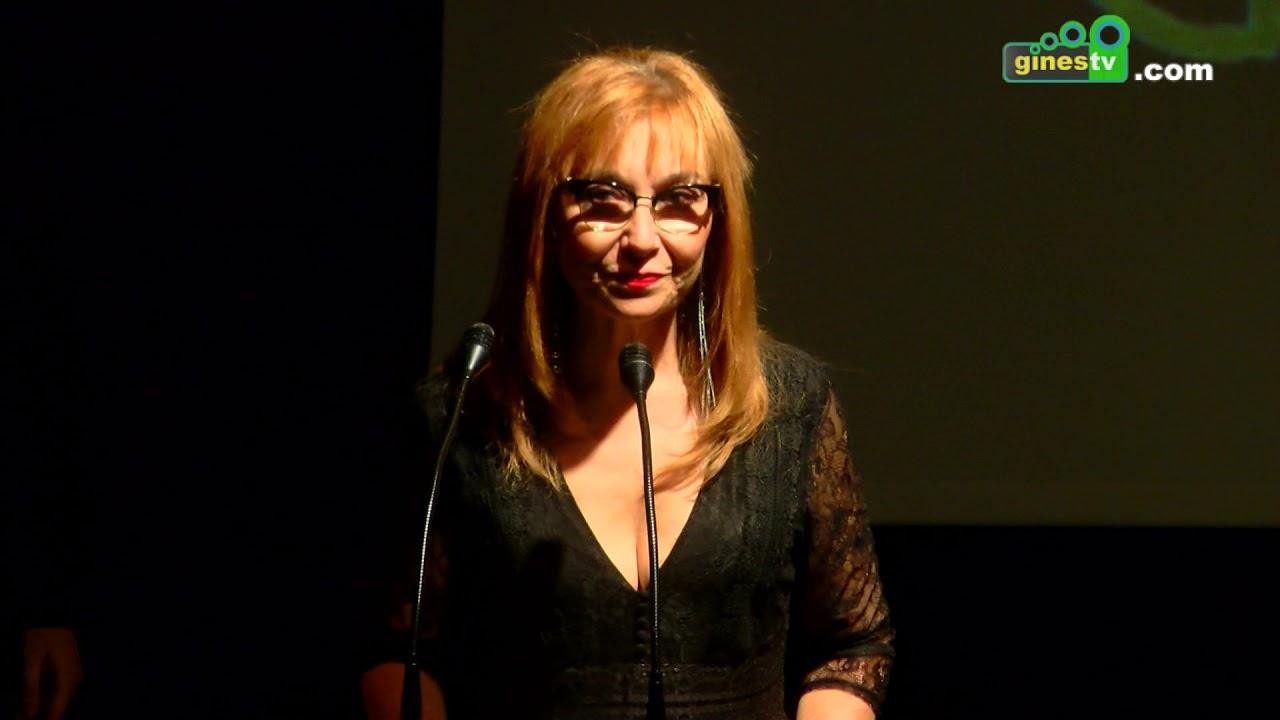 La actriz Mercedes Hoyos, homenajeada en la novena edición de 'Gines en Corto'