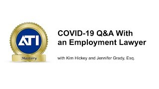 COVID-19 Update: Live QA with Employment Lawyer Jennifer Grady
