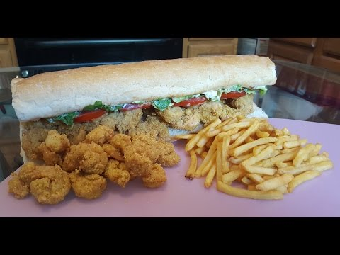 How To Make New Orleans Shrimp Po-boy