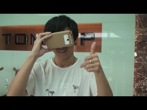 DIY Google Cardboard Virtual Reality VR Mobile Phone 3D Viewing Glasses