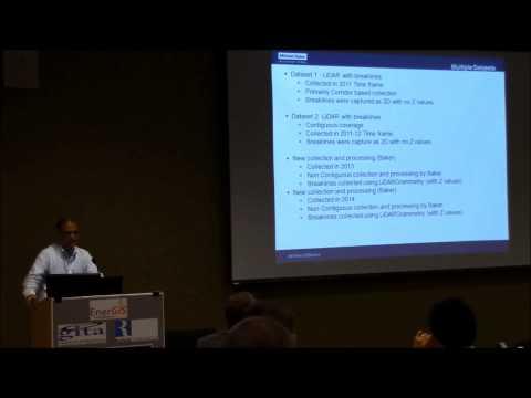 EnerGIS 2015: Managing Multiple LIDAR Datasets, Srini Dharmapuri